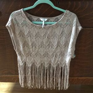 Tops - Kira XS/S glittery knit top